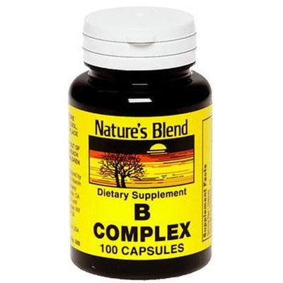 Natures Blend Nature's Blend B Complex Capsules, 100 Caps