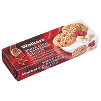 Walkers White Chocolate & Raspberry Cookies - 5.3 oz