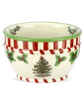 Spode Christmas Tree Peppermint Small Bowl