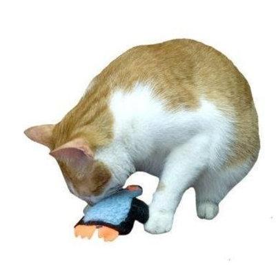 Imperial Cat Cat and Around, Penguin, Refillable Catnip Toy