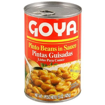 Goya Pinto Beans Guisadas, 15-Ounce Unit (Pack of 12)