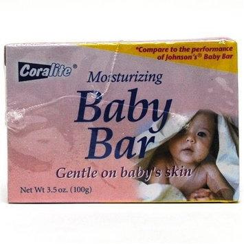 Coralite Moisturizing Baby Bar - Two 3.5 Oz Bars