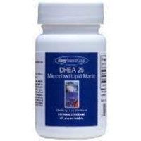 Allergy Research Group DHEA 25mg Micronized Lipid Matrix 60T