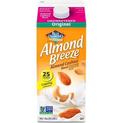 Almond Breeze® Almond Cashew Unsweetened Original