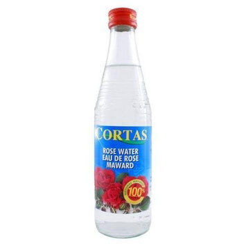 Cortas Rose Water, 10-Ounce Bottles (Pack of 4)