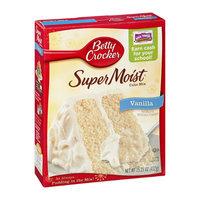 Betty Crocker Super Moist Vanilla Flavored Cake Mix