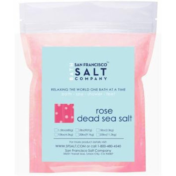 Rose Dead Sea Bulk Bath Salts 10lb Bag