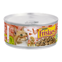 Purina Friskies Tasty Treasures with Chicken, Tuna & Cheese in Gravy Cat Food