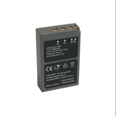 Battery for Olympus BLS5 Replacement Battery