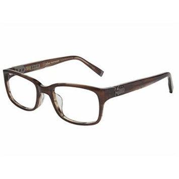 John Varvatos V344 Asian Fit Eyeglasses Brown