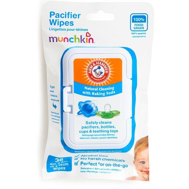 Munchkin Arm & Hammer™ Pacifier Wipes