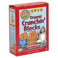 Earth's Best Tots Crunchin Blocks, Cinnamon, 5.3-Ounce Units (Pack of 6)