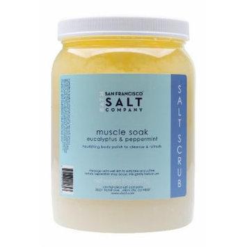 Muscle Soak Sea Salt Body Scrub 5lb Professional Size