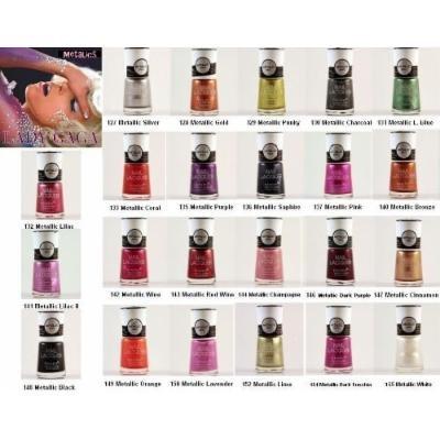 6pcs Nabi Metallic Nail Polish(Pick any 6 colors)MORE THAN 25 COLORS