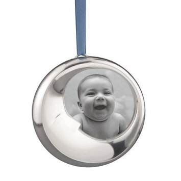 Nambe Sleeping Moon, Christmas Ornament
