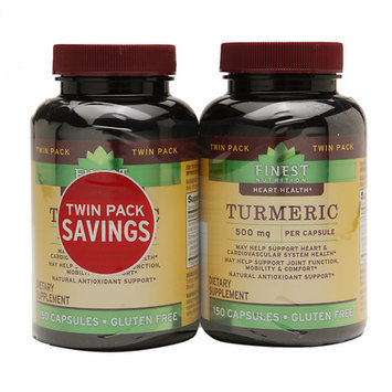 Finest Natural Turmeric 500 mg 2 pk