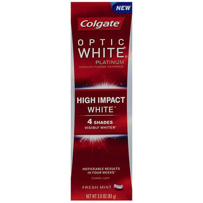 Colgate Optic White Platinum High Impact Toothpaste