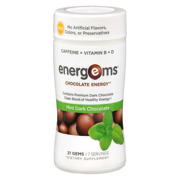 Energems Chocolate Energy Mint Dark Chocolate