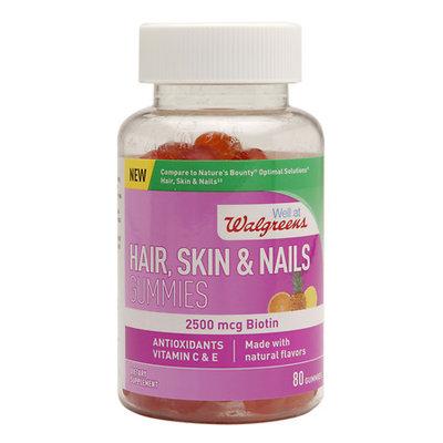 Walgreens Hair, Skin & Nails Gummies