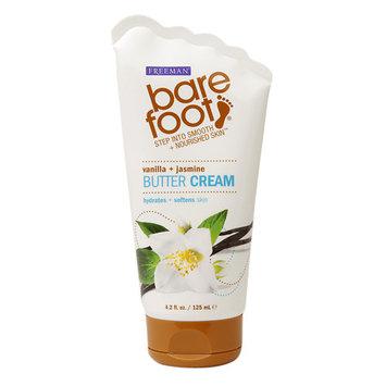 Freeman Bare Foot Butter Cream, Vanilla + Jasmine, 4.2 fl oz