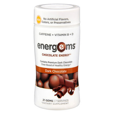 Energems Chocolate Energy Dark Chocolate