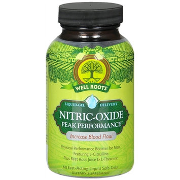 Well Roots Nitric-Oxide Peak Performance, Softgels