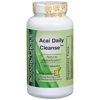 Botanic Choice Acai Daily Cleanse Dietary Supplement Capsules