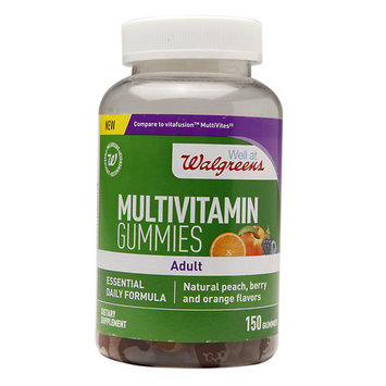 Walgreens Adult Multivitamin Gummies Peach