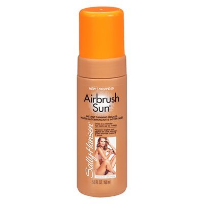 Sally Hansen Airbrush Sun Mousse Tanning Lotion Medium - 5 oz