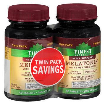 Finest Natural Melatonin 10 mg 2 pk