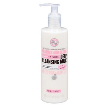 Soap & Glory Peaches and Clean Deep Cleansing Milk - 11.8 fl oz