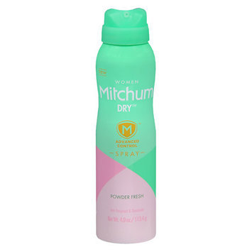 Mitchum Women's Antiperspirant Dry Spray Powder Fresh