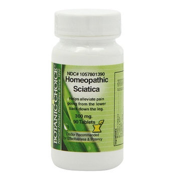 Botanic Choice Homeopathic Sciatica Formula, Tablets