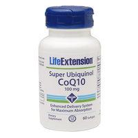 Super Ubiquinol CoQ10 100mg Life Extension 60 Softgel