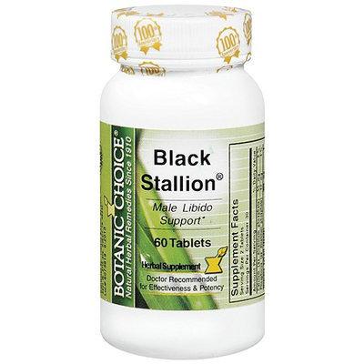 Botanic Choice Black Stallion Male Libido Herbal Supplement Tablets