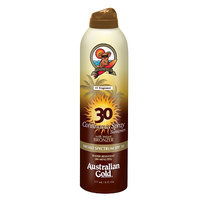 Australian Gold Continuous Spray Sunscreen with Instant Bronzer, 6 Ounces