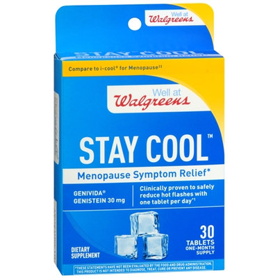 Walgreens Stay Cool Menopause Symptom Relief, Tablets