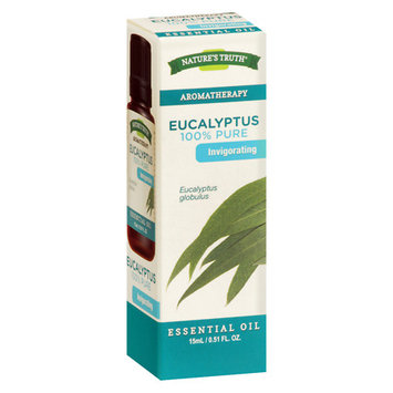 Nature's Truth Aromatherapy Eucalyptus Essential Oil - 15 mL, Clear