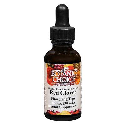 Botanic Choice Red Clover Flowering Tops Herbal Supplement Liquid