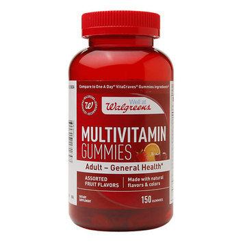Walgreens Multivitamin Adult Gummies Fruit