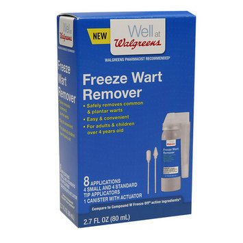 Walgreens Freeze Wart Remover