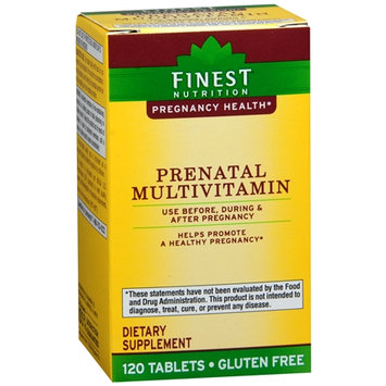 Finest Nutrition Prenatal Multivitamin, Tablets