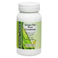 Botanic Choice Green Tea Plus Cinnamon 500 mg Capsules