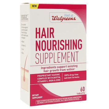 Walgreens Hair Nourishing Supplement