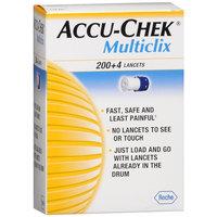 Accu Chek Accu-Chek Multiclix 200+4 Lancets, 204 ea