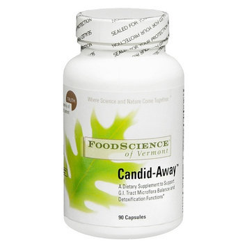 FoodScience of Vermont Candid-Away Dietary Supplement Capsules