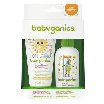 Babyganics Sunscreen & Bug Spray SPF 50 2 pk