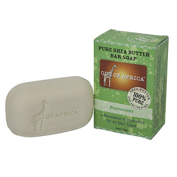 Out Of Africa Pure Shea Butter Bar Soap Peppermint 4 oz