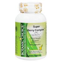 Botanic Choice Super Berry Complex Dietary Supplement Capsules