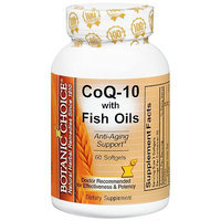 Botanic Choice CoQ-10 with Fish Oils Dietary Supplement Softgels